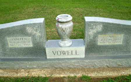 VOWELL, ABNER BISMARK - Clay County, Arkansas | ABNER BISMARK VOWELL - Arkansas Gravestone Photos