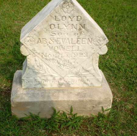 VOWELL, LOYD OLYNN - Clay County, Arkansas | LOYD OLYNN VOWELL - Arkansas Gravestone Photos