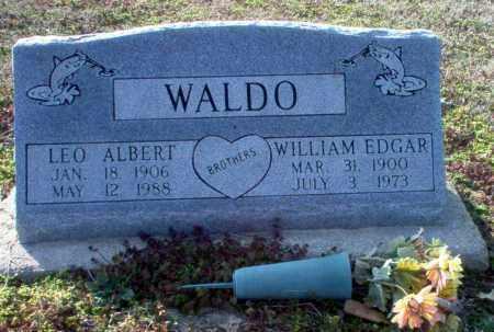 WALDO, LEO ALBERT - Clay County, Arkansas | LEO ALBERT WALDO - Arkansas Gravestone Photos