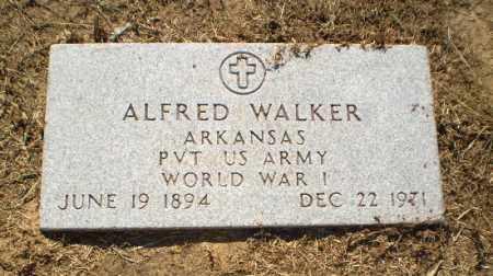 WALKER  (VETERAN WWI), ALFRED - Clay County, Arkansas | ALFRED WALKER  (VETERAN WWI) - Arkansas Gravestone Photos