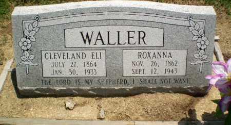 WALLER, CLEVELAND ELI - Clay County, Arkansas | CLEVELAND ELI WALLER - Arkansas Gravestone Photos