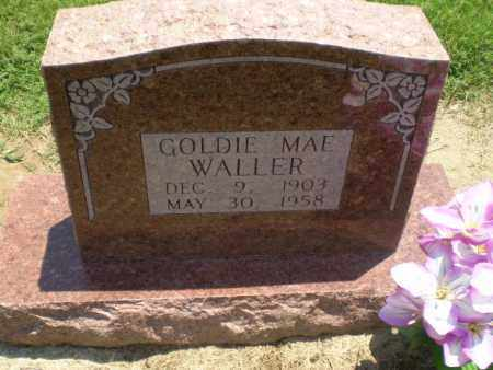 WALLER, GOLDIE MAE - Clay County, Arkansas | GOLDIE MAE WALLER - Arkansas Gravestone Photos
