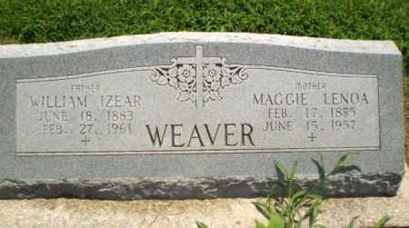 WEAVER, MAGGIE LENOA - Clay County, Arkansas   MAGGIE LENOA WEAVER - Arkansas Gravestone Photos