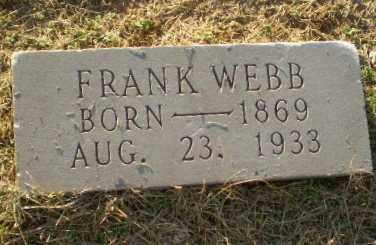 WEBB, FRANK - Clay County, Arkansas   FRANK WEBB - Arkansas Gravestone Photos