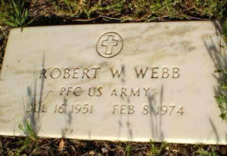 WEBB (VETERAN), ROBERT - Clay County, Arkansas | ROBERT WEBB (VETERAN) - Arkansas Gravestone Photos