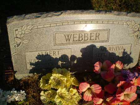 WEBBER, MERNIVA - Clay County, Arkansas | MERNIVA WEBBER - Arkansas Gravestone Photos