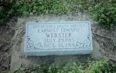 WEBSTER, EARNEST EDWARD - Clay County, Arkansas | EARNEST EDWARD WEBSTER - Arkansas Gravestone Photos