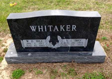 WHITAKER, BILL - Clay County, Arkansas   BILL WHITAKER - Arkansas Gravestone Photos