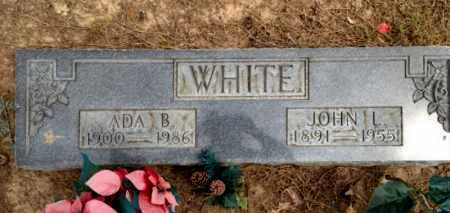 WHITE, ADA B. - Clay County, Arkansas | ADA B. WHITE - Arkansas Gravestone Photos