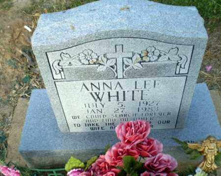 WHITE, ANNA LEE - Clay County, Arkansas | ANNA LEE WHITE - Arkansas Gravestone Photos