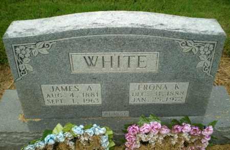WHITE, FRONA K - Clay County, Arkansas   FRONA K WHITE - Arkansas Gravestone Photos