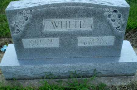 WHITE, GUSS - Clay County, Arkansas | GUSS WHITE - Arkansas Gravestone Photos