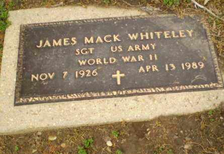 WHITELEY  (VETERAN WWII), JAMES MACK - Clay County, Arkansas | JAMES MACK WHITELEY  (VETERAN WWII) - Arkansas Gravestone Photos