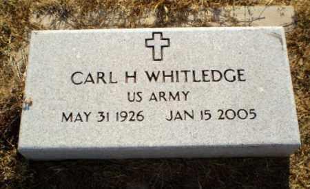 WHITLEDGE (VETERAN), CARL H - Clay County, Arkansas | CARL H WHITLEDGE (VETERAN) - Arkansas Gravestone Photos