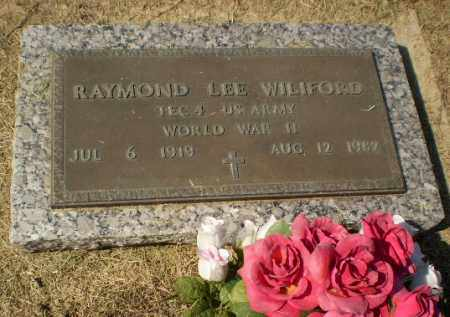 WILIFORD (VETERAN WWII), RAYMOND LEE - Clay County, Arkansas | RAYMOND LEE WILIFORD (VETERAN WWII) - Arkansas Gravestone Photos