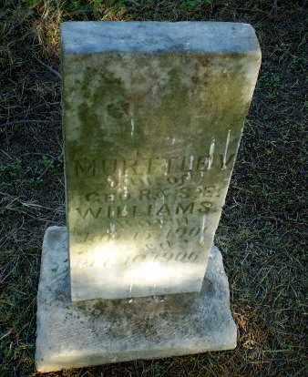 WILLIAMS, MURTTLE V - Clay County, Arkansas   MURTTLE V WILLIAMS - Arkansas Gravestone Photos