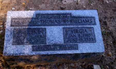 WILLIAMS, PAULINE - Clay County, Arkansas | PAULINE WILLIAMS - Arkansas Gravestone Photos