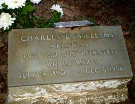 WILLIAMS (VETERAN WWI), CHARLES E - Clay County, Arkansas | CHARLES E WILLIAMS (VETERAN WWI) - Arkansas Gravestone Photos