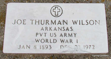 WILSON  (VETERAN WWI), JOE THURMAN - Clay County, Arkansas | JOE THURMAN WILSON  (VETERAN WWI) - Arkansas Gravestone Photos