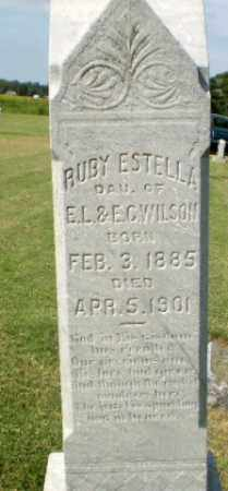WILSON, RUBY ESTELLA - Clay County, Arkansas   RUBY ESTELLA WILSON - Arkansas Gravestone Photos