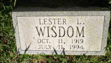 WISDOM, LESTER L - Clay County, Arkansas | LESTER L WISDOM - Arkansas Gravestone Photos
