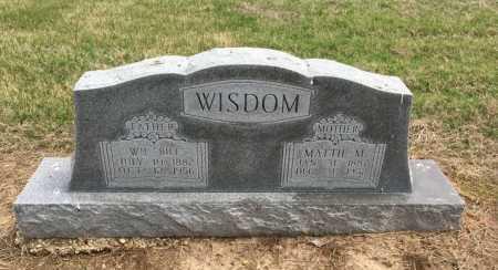 "WISDOM, WILLIAM ""BILL"" - Clay County, Arkansas | WILLIAM ""BILL"" WISDOM - Arkansas Gravestone Photos"
