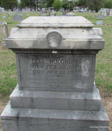 WOODRUFF, DELL - Clay County, Arkansas | DELL WOODRUFF - Arkansas Gravestone Photos