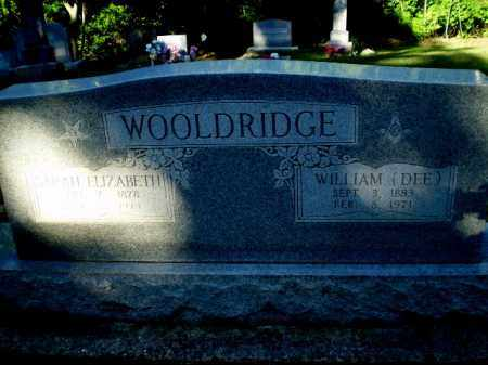 WOOLDRIDGE, SARAH ELIZABETH - Clay County, Arkansas | SARAH ELIZABETH WOOLDRIDGE - Arkansas Gravestone Photos