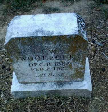 WOOLFOLK, J.W. - Clay County, Arkansas | J.W. WOOLFOLK - Arkansas Gravestone Photos