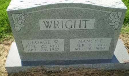 WRIGHT, GEORGE W - Clay County, Arkansas | GEORGE W WRIGHT - Arkansas Gravestone Photos