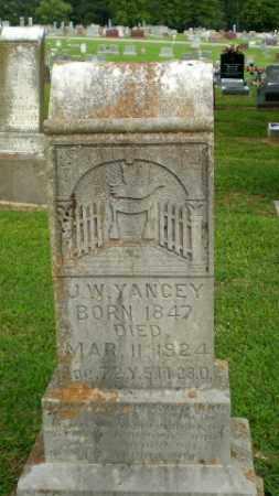 YANCEY, J.W. - Clay County, Arkansas | J.W. YANCEY - Arkansas Gravestone Photos