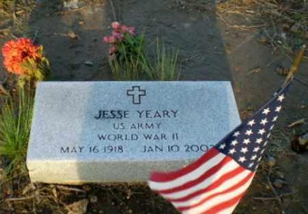 YEARY  (VETERAN WWII), JESSE - Clay County, Arkansas | JESSE YEARY  (VETERAN WWII) - Arkansas Gravestone Photos