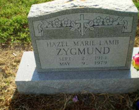 LAMB ZYGMUND, HAZEL MARIE - Clay County, Arkansas | HAZEL MARIE LAMB ZYGMUND - Arkansas Gravestone Photos