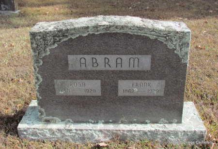 ABRAM, ROSA - Cleburne County, Arkansas | ROSA ABRAM - Arkansas Gravestone Photos