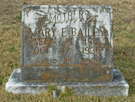 BAILEY, MARY E. - Cleburne County, Arkansas | MARY E. BAILEY - Arkansas Gravestone Photos