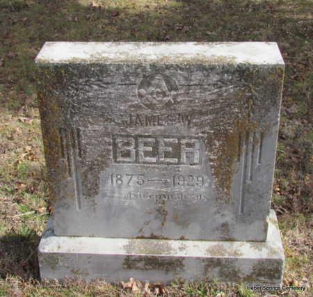 BEER, JAMES W. - Cleburne County, Arkansas | JAMES W. BEER - Arkansas Gravestone Photos