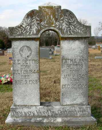 BETTIS, J. E. - Cleburne County, Arkansas   J. E. BETTIS - Arkansas Gravestone Photos