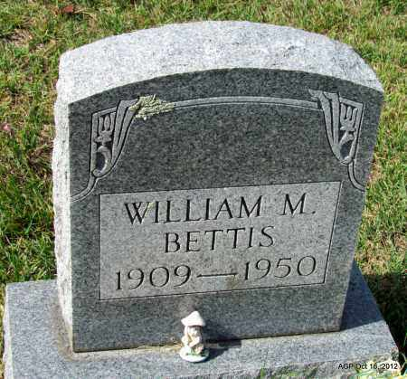 BETTIS, WILLIAM M - Cleburne County, Arkansas | WILLIAM M BETTIS - Arkansas Gravestone Photos
