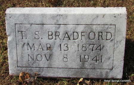 BRADFORD, THOMAS S. - Cleburne County, Arkansas | THOMAS S. BRADFORD - Arkansas Gravestone Photos