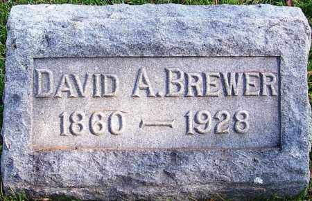 BREWER, DAVID A - Cleburne County, Arkansas | DAVID A BREWER - Arkansas Gravestone Photos