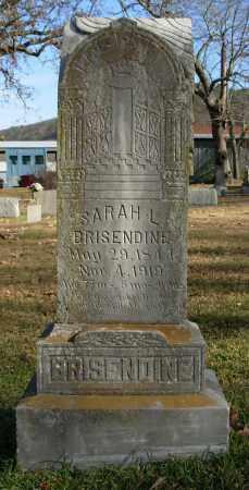 BRISENDINE, SARAH L. - Cleburne County, Arkansas | SARAH L. BRISENDINE - Arkansas Gravestone Photos
