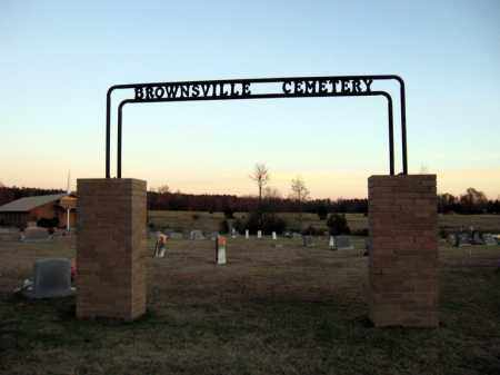 * BROWNSVILLE, CEMETERY PHOTO - Cleburne County, Arkansas   CEMETERY PHOTO * BROWNSVILLE - Arkansas Gravestone Photos