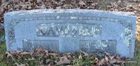 CAMPBELL, AVA LENA - Cleburne County, Arkansas | AVA LENA CAMPBELL - Arkansas Gravestone Photos
