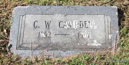 CAMPBELL, C W - Cleburne County, Arkansas | C W CAMPBELL - Arkansas Gravestone Photos