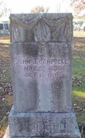 CAMPBELL, JOHN J - Cleburne County, Arkansas | JOHN J CAMPBELL - Arkansas Gravestone Photos