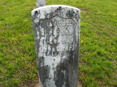 CARR  (VETERAN UNION), JACOB P. - Cleburne County, Arkansas | JACOB P. CARR  (VETERAN UNION) - Arkansas Gravestone Photos