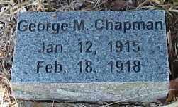 CHAPMAN, GEORGE MADISON - Cleburne County, Arkansas | GEORGE MADISON CHAPMAN - Arkansas Gravestone Photos