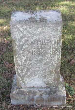 CHAPMAN, J W - Cleburne County, Arkansas   J W CHAPMAN - Arkansas Gravestone Photos