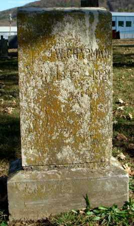 CHAPMAN, J. W. - Cleburne County, Arkansas | J. W. CHAPMAN - Arkansas Gravestone Photos