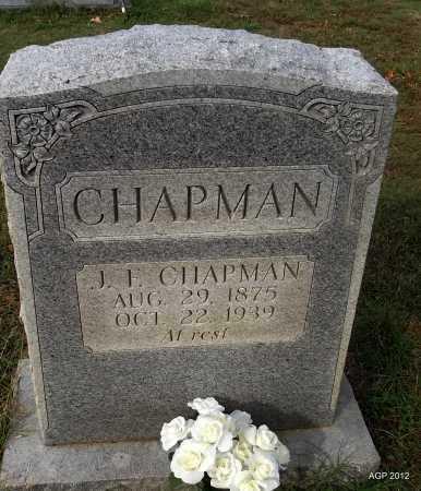 CHAPMAN, JOHN FRANK - Cleburne County, Arkansas   JOHN FRANK CHAPMAN - Arkansas Gravestone Photos